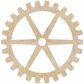 Wood Flourishes - Large Cog