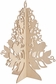 Wood Flourishes - Medium Stand-Up Tree 11""