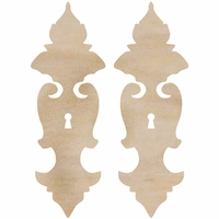 Wood Flourishes - Ornate Locks