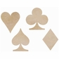 Wood Flourishes - Playing Card Suits
