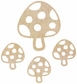 Wood Flourishes - Toadstools