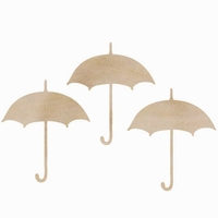 Wood Flourishes - Umbrellas