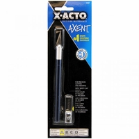 X-Acto AXENT Knife w/Cap-Blue