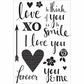 XO Clear Stamps