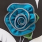 Zipper Flower Card