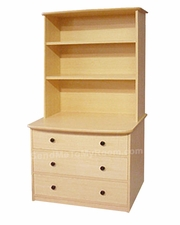 22-22 3-Drawer Chest shown with optional Hutch