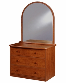 22-22 3-Drawer Chest shown with optional Mirror