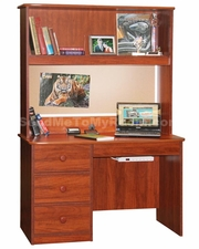 22-35 Student Desk shown with optional Hutch