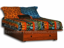 22-63 Utica Full Size Platform Bed with Front Drawer