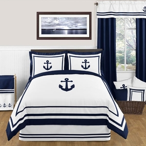 Anchors Away Kids Bedding Collection