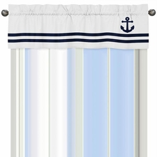 Anchors Away Window Valance
