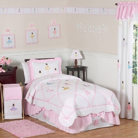 Ballerina Kids Bedding Collection