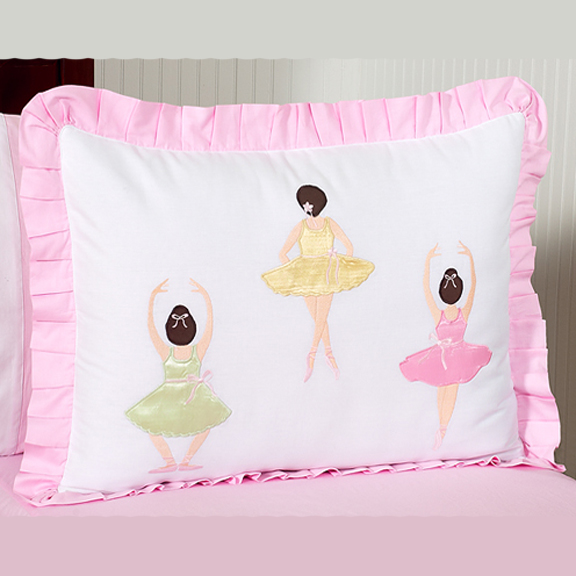Ballerina Pillow Sham