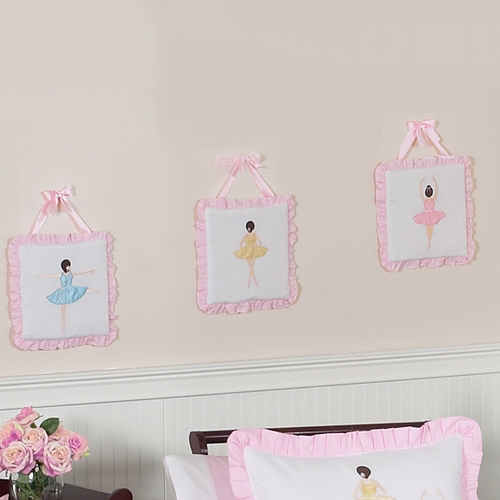 Ballerina Wall Hangings