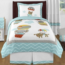 Balloon Buddies Comforter Set