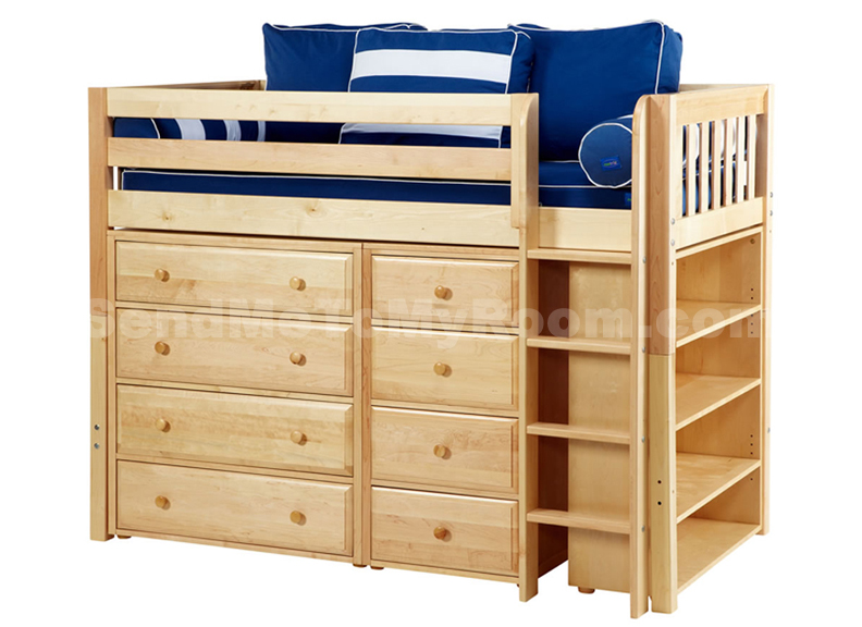 Twin Storage Loft Bed 792 x 576