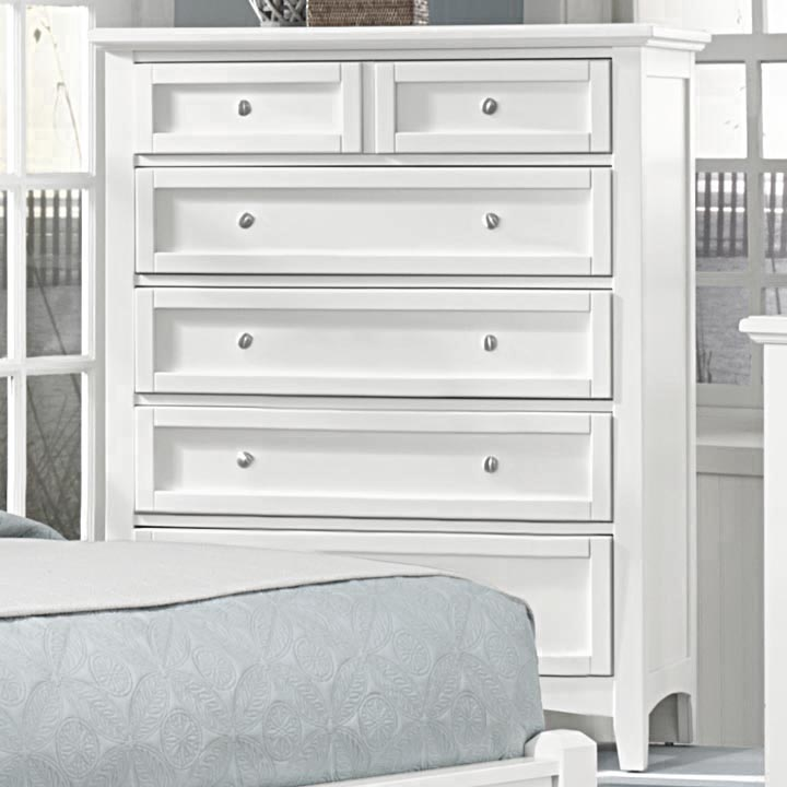 Virginia House Boulevard 5 Drawer Chest In White Dressers And Chests. White 5 Drawer Dresser   Trend Dressers Designs
