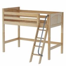 Bongo Mid-Height Loft Bed with Medium/Low Bed Ends