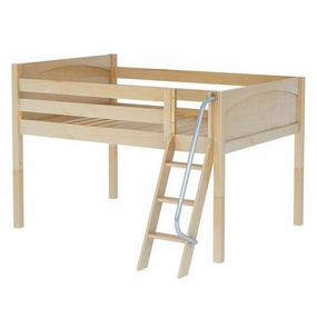 Buster Full Low Loft with Medium/Low Bed Ends and Angled Ladder