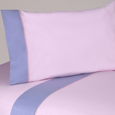 Butterfly Pink & Lavender Sheet Set