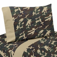 Camo Green Sheet Set