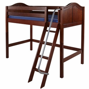 Chap Mid-Height Loft Bed with Angled Ladder