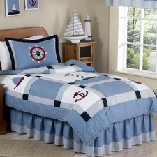 Come Sail Away Comforter Set