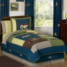 Construction Comforter Set