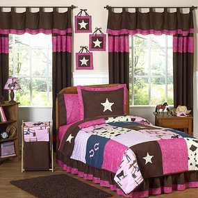 Cowgirl Kids Bedding Collection