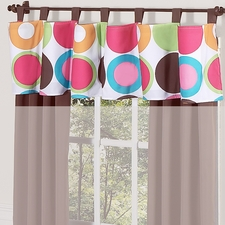 Deco Dot Window Valance