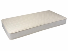 "Deluxe 6"" Quilted 1-Sided Organic Mattress"