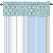 Earth and Sky Arrow Valance