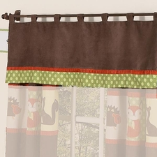 Forest Friends Window Valance