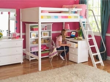 Full Size High Loft Beds