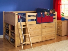 Full Size Low Loft Beds
