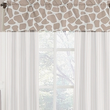 Giraffe Window Valance