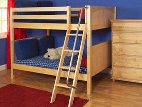 Gulp Full/Full LOW Bunk Bed with Angled Ladder