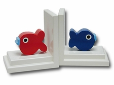 Hand-Decorated Bookends