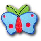 Hand-Decorated Bug Life Drawer Pulls