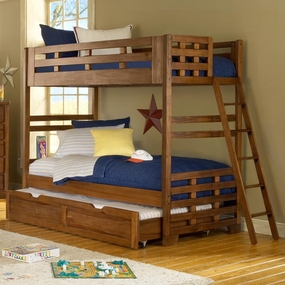 Heartland Twin over Twin Bunk Bed with Trundle