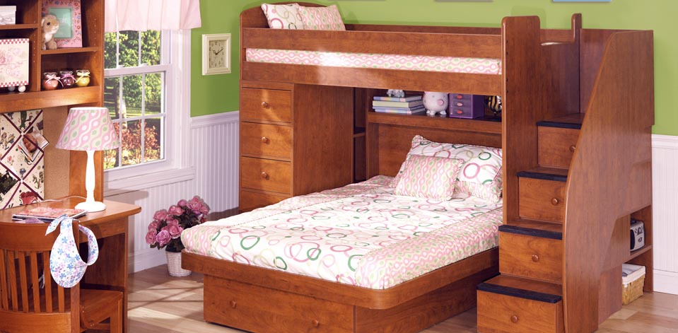 Berg Furniture Beds with Stairs