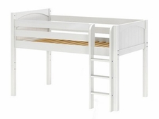 I Love You Low Loft Bed with Medium/Low Bed Ends