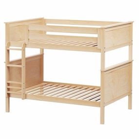 Jackpot Full/Full Panel Bunk Bed in Natural