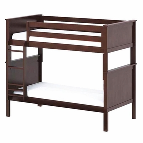 Jackpot Twin/Twin Panel Bunk Bed in Cherry