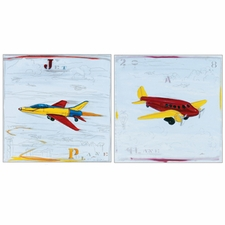 Jet Plane Collection (2 piece set)