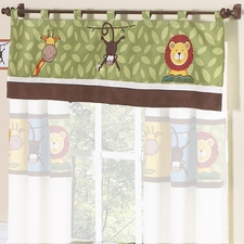 Jungle Time Window Valance