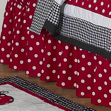 Little Ladybug Full/Queen Bed Skirt