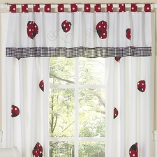 Little Ladybug Window Valance