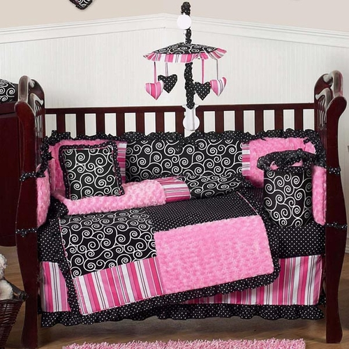 Madison 9-piece Crib Bedding Set
