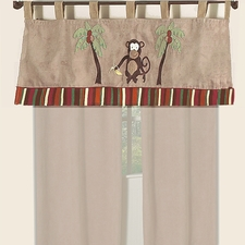 Monkey Window Valance
